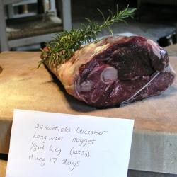 Aged Mutton leg joint
