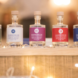 Branded Hussingtree Gin Miniatures