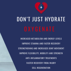 Hydration & Oxygen Therapy, the best of both worlds