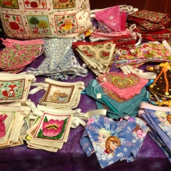 Needle-craft - Cushions & Bunting