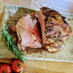 Roast lamb yum!