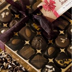 Box of 24 nutty chocolates