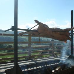 Wood Fired Berkshire Hog Roast
