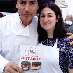 Jean Christophe-Novelli with Ajika