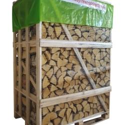 Large Crate - Kiln Dried Birch Firewood