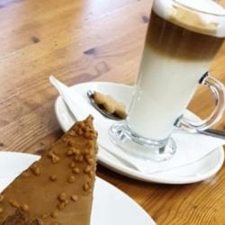 Latte & Posh Custard Tart!