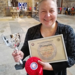 Another Award - This time Champion Pie Maker