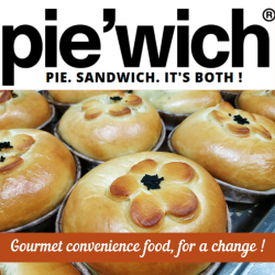 Gourmet convenience food - that's our Piewich