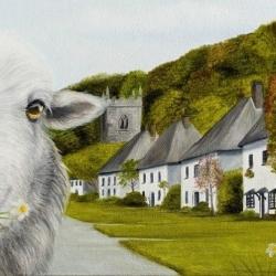 Milton Abbas - Sheep Selfie - Lucy's Farm