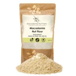 Macadamia nut flour