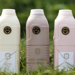 Rainbow milk!