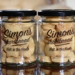 Simon's Shortbread 90g - Pair
