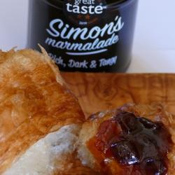 Simon's Marmalade on croissant