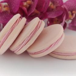 Raspberry & White Chocolate Alfajores (Gluten-Free)