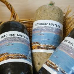 Ritchie's Black pudding and haggis