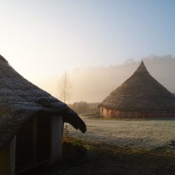 Butser roundhouses
