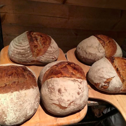 The Prior's Flour loaves from the Wood Fired Oven!