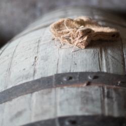 aged in barrels