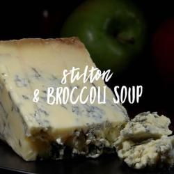 Stilton & Brocolli soup