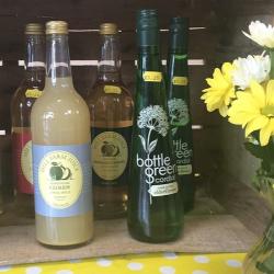 local drinks & flowers