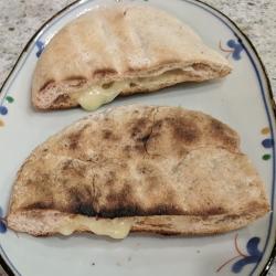 Cheesy Pita