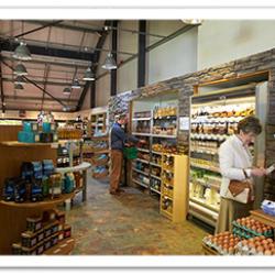 our shop & cafe