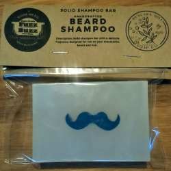 Beard and moustache shampoo bars