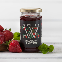 Strawberry & Mint Jam, 250g