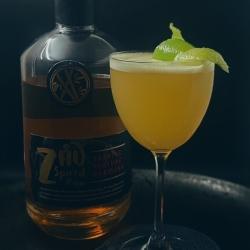 Zhú Spiced Rum Swizzle