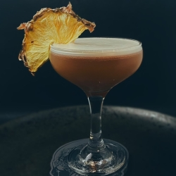 Zhú Spiced Rum Bamboo Cosmo