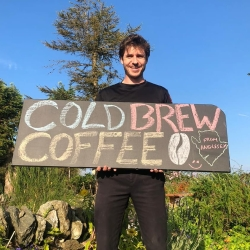Derw cold brew coffee Anglesey