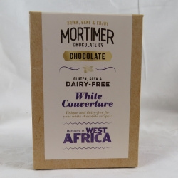 White Couverture Chocolate Powder - dairy free, gluten free and soya free