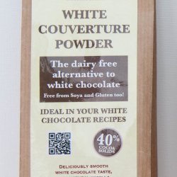 White Couverture Chocolate Powder - dairy free