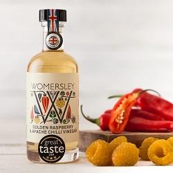 Golden Raspberry & Apache Chilli Vinegar, 100ml