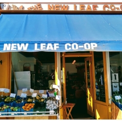 The New Leaf Co-op food shop
