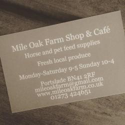 Mile Oak Farm Shop
