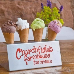 Churchfields Farmhouse Ice Cream