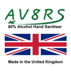 AV8RS Hand Sanitiser