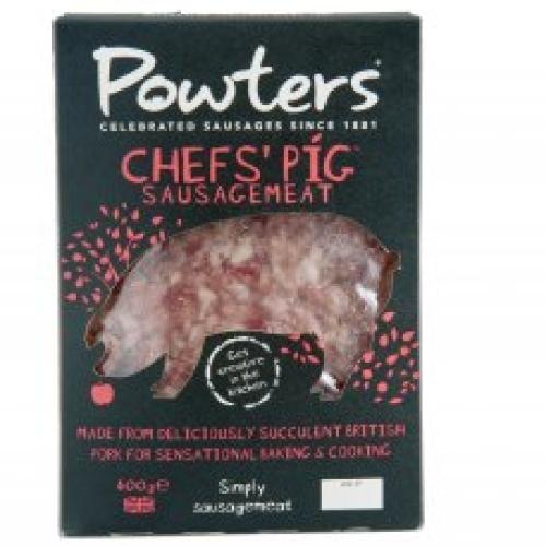 Powters Chef's Pig Sausagemeat
