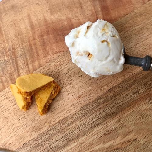 Salted Caramel Ice Cream Gelato