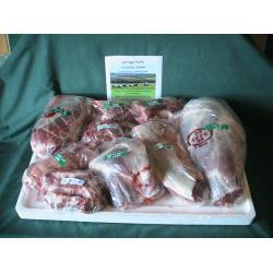Half lamb,fresh organic meat box