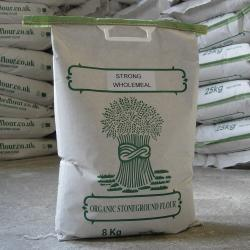 Organic Strong 100% Wholemeal Flour 8kg