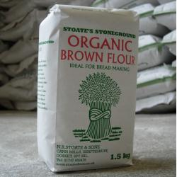 Organic Brown Flour (81% extract) 1.5kg