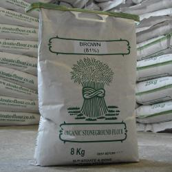 Organic Brown Flour (81% extract) 8kg