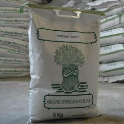 Organic Strong White Flour 8kg