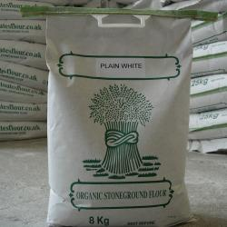 Organic Plain White Flour 8kg