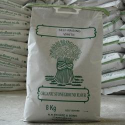 Organic White Self Raising Flour 8kg