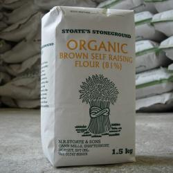 Organic Brown Self Raising 1.5kg