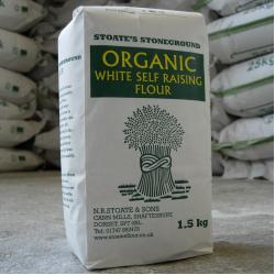 Organic White Self Raising Flour 1.5kg