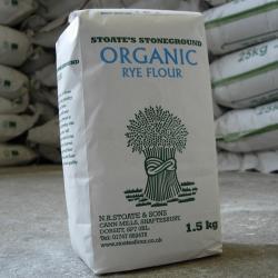 Organic Rye Flour 1.5kg